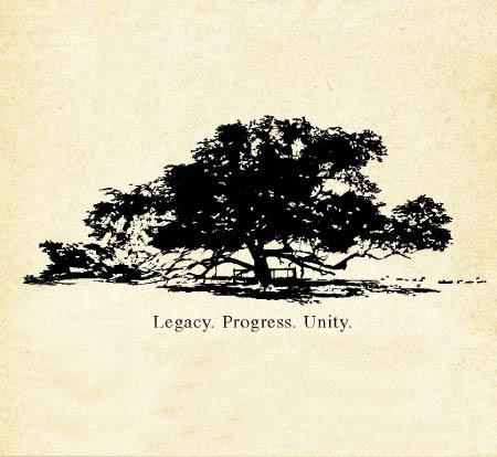 Legacy. Progress. Unity.